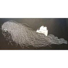 Several Pleasures Papercut Art — Maude White