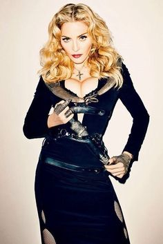 Madonna for Harpers Bazar 2013