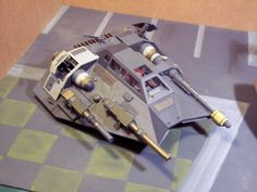Patched up Speeder