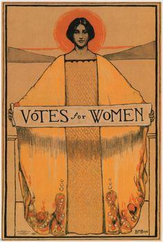 Votes for Women. #suffragette #women #politics #poster #feminism