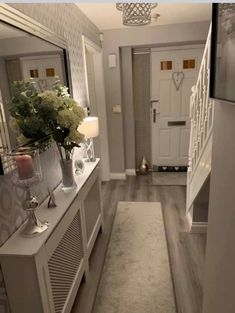 Stunning 20 Fabulous Hallway Decor Ideas For Home. Stunning 20 Fabulous Hallway Decor Ideas For Home. Hallway Ideas Entrance Narrow, House Entrance, Modern Hallway, Grey Hallway, Entry Hallway, Entrance Hall Decor, Flat Hallway Ideas, Country Hallway Ideas, Bungalow Hallway Ideas