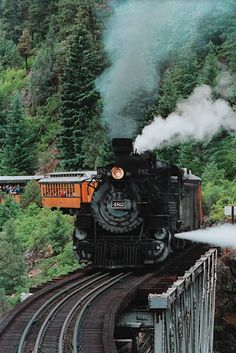 Durango/Silverton Train - High Bridge (Crawford)