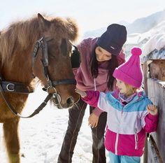 Winterabenteuer im Feriendorf // Winter adventures in the holiday village Riding Helmets, Adventure, Winter, Holiday, Winter Time, Vacations, Holidays, Adventure Movies, Adventure Books