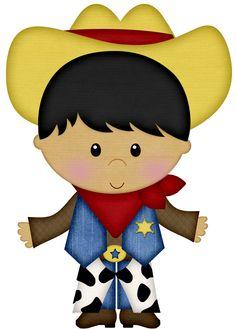 Cowboy e Cowgirl - Minus Cowboy Birthday Party, Cowboy Party, Cowboy And Cowgirl, Felt Animal Patterns, Stuffed Animal Patterns, Doll Patterns, Western Clip Art, Westerns, Fun Fair