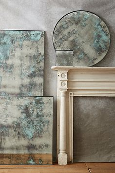 Color-Washed Mirror #anthropologie
