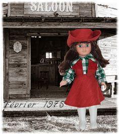 Vêtement pour poupée Modes et Travaux Marie Françoise ou Françoise Février 1975