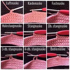 How to Crochet into the Third Loop Video Tutorial Crochet Symbols, Crochet Stitches, Crochet Patterns, Yarn Crafts, Diy And Crafts, Crochet Toys, Knit Crochet, Crochet For Beginners, Crochet Projects