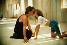 patrick swayze and jennifer grey in dirty dancing. i will never ever get sick of this movie