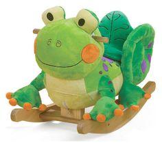 Fergie the Frog Rocker, Green/Multi | Gifts That Rock | One Kings Lane