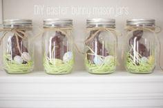 easter bunny mason jars. » erin vancura