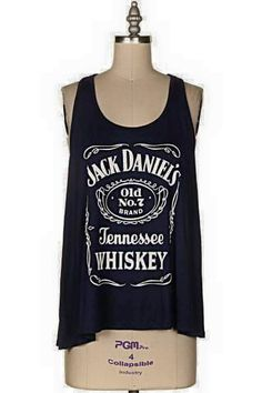Adult Jack Daniels Tennesse Whiskey Tank