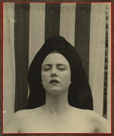 Portrait of Ione Robinson, writer 1929 by Tina Modotti