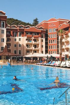 Club Aida Apartments in Marmaris, Dalaman Region, Turkey Amazing Hotels, Best Hotels, Marmaris Turkey, Great Hotel, Apartments, Catering, Club, London, Mansions