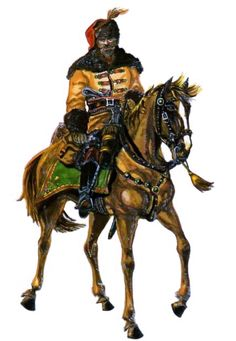 Croatian cavalryman,