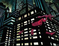 #Spiderman #Fan #Art. (Amazing_Spider-Man) By: John Romita Jr. (THE * 5 * STÅR * ÅWARD * OF: * AW YEAH, IT'S MAJOR ÅWESOMENESS!!!™) ÅÅÅ+