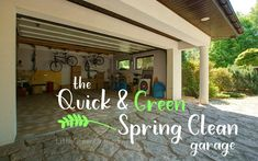 The Quick and Green Spring Clean: The Garage, Outside, and your Cars