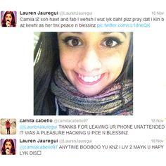 camila and lauren tweets - Căutare Google