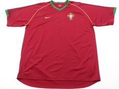Nike PORTUGUESE FOOTBALL FEDERATION FPF Mens 2XL XXL Red Green Polyester #Nike #Portugal