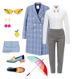 A fashion look from April 2018 featuring slimming blouses, long sleeve coat and houndstooth pants. Browse and shop related looks. Houndstooth, Camper, Mango, Fashion Looks, Rainbow, Coat, Long Sleeve, Polyvore, Sleeves