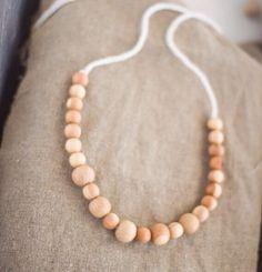 Ari + Me | Wooden Nursing Necklace