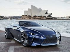 The Lexus LF-LC Blue, which debuted at the Australian motor show, builds off the LF-LC hybrid concept that emerged at the 2012 Detroit auto show. Photo by Lexus. Lexus Lfa, Lexus Gs300, Lexus Cars, Lexus Coupe, Lexus Sports Car, Maserati, Bugatti, Ferrari, Luxury Sports Cars