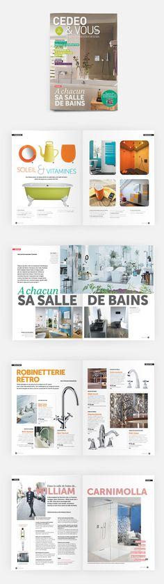 L'édition n°10 (été 2014) de Cedeo&Vous, le magazine des tendances de la salle de bain #OPS2