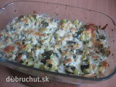 Fotorecept: Zapečená cuketa Quiche, Favorite Recipes, Pasta, Chicken, Meat, Breakfast, Russian Recipes, Food, Polish