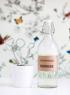 Burbujero handmade para tu boda