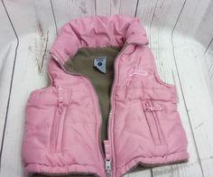 Girls Pumpkin Patch Gilet Bodywarmer age 2  pink hooded gillet