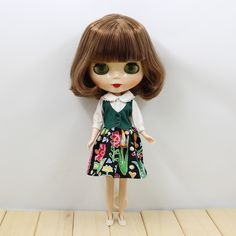 Blythe Imported From Abroad Sarah Ooak Custom Blythe Tbl Fake Doll Pure White And Translucent