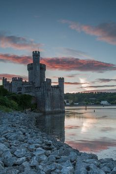 Blackrock Castle sul fiume Lee,Contea di Cork,Irlanda - Ph Des Daly