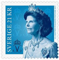 "Sweden 21kr 2017 ""Queen Silvia"""