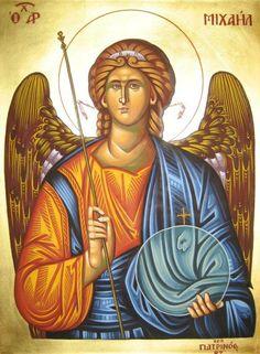 Archangel Michael by teopa on DeviantArt Archangel Raphael, Byzantine Art, Guardian Angels, St Michael, Roman Catholic, Religious Art, Religion, Deviantart, Artist