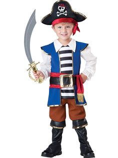 Toddler Pirate Boy Costume | Wholesale Pirate Costumes for Babies, Infants & Toddlers