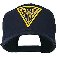 New Jersey State Police Patched High Profile Cap - Navy OSFM