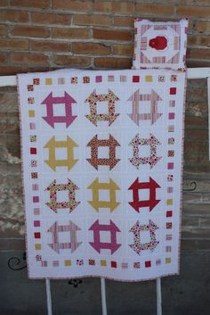 Michelle Jensen is a pattern designer/long arm quilter sharing her love of quilting and all other things she loves with all her heart. Lap Quilts, Scrappy Quilts, Small Quilts, Heart Quilts, Mini Quilts, Patch Quilt, Quilt Blocks, Lady Bug, Churn Dash Quilt