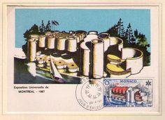 MONACO STAMP - 1967 MONTREAL EXPO