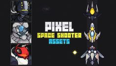 Pixel Space Shooter Assets