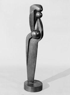 Sorel Etrog, Canadian, b. Jassy, Romania, 1933–2014 Nude #2, (1960) Mahogany, 41 1/4 x 8 7/8 x 9 3/8 in. (104.8 x 22.5 x 23.8 cm)
