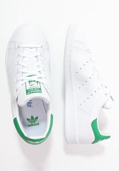 Baskets basses adidas Originals STAN SMITH - Baskets basses - white/green blanc…