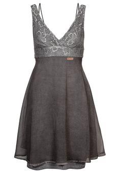 khujo - WACH - Summer dress - grey