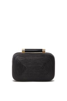 DVF | The small Tonda clutch is given a female edge with a fine passamentry finish. #ThePunctuation