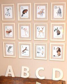 {The Smith Nest}: DIY Nursery Art