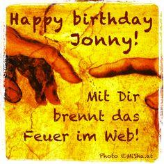 Happy birthday @webfeuerjonny - es ist mir vom ersten Tag des Dizzy Kennenlernens eine Freude mit Dir http://www.networkfinder.cc/?s=webfeuerjonny