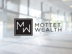 Logo design for Mottet Wealth.