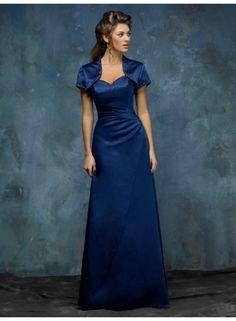 Sheath Sweetheart Sleeveless Ruching/Beading with Wrap Empire Floor-length Satin Celebrity Dresses WE0872