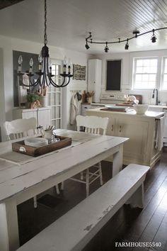 FARMHOUSE 5540: Farmhouse Friday ~ Farmhouse Kitchen
