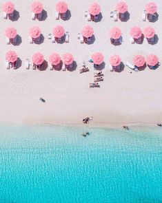 Travel drone photography offers a whole new prospective on sandy white shores and beach scenes. Here's 10 of our favorite aerial photos. Photo Wall Collage, Picture Wall, Foto Fashion, Beach Hacks, Beach Aesthetic, Pink Beach, Beach Scenes, Aerial Photography, Travel Photography