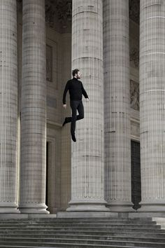 Surreal Jumping Photography - Le Saut by Victoire Le Tarnec Captures Weightless Figures in the Air (GALLERY)