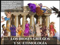Los dioses griegos y su etimologia